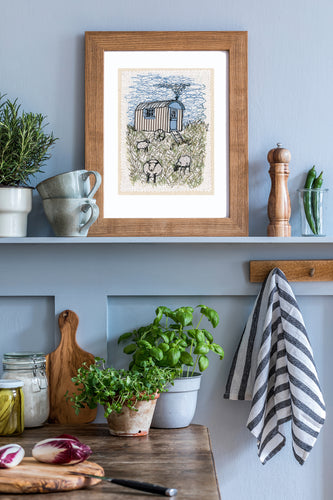 The Shepherd's Hut Giclée Print
