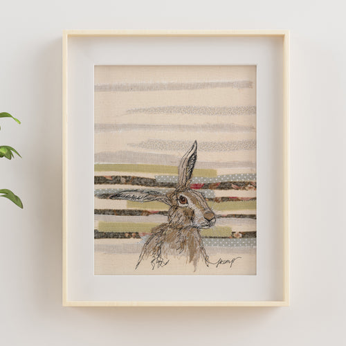 Threadbare Hare Giclée Print