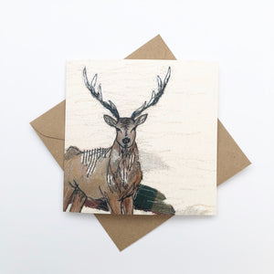 The Staggering Stitch Stag Note Cards (6 Pack)