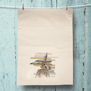 Threadbare Hare Organic Tea Towel