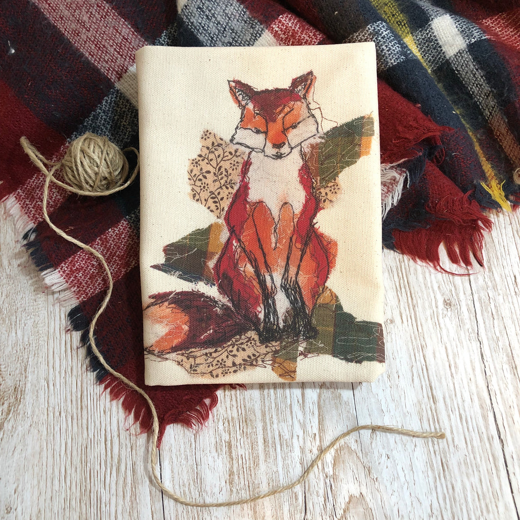 Fox Organic Tea Towel