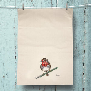 Robin Organic Tea Towel