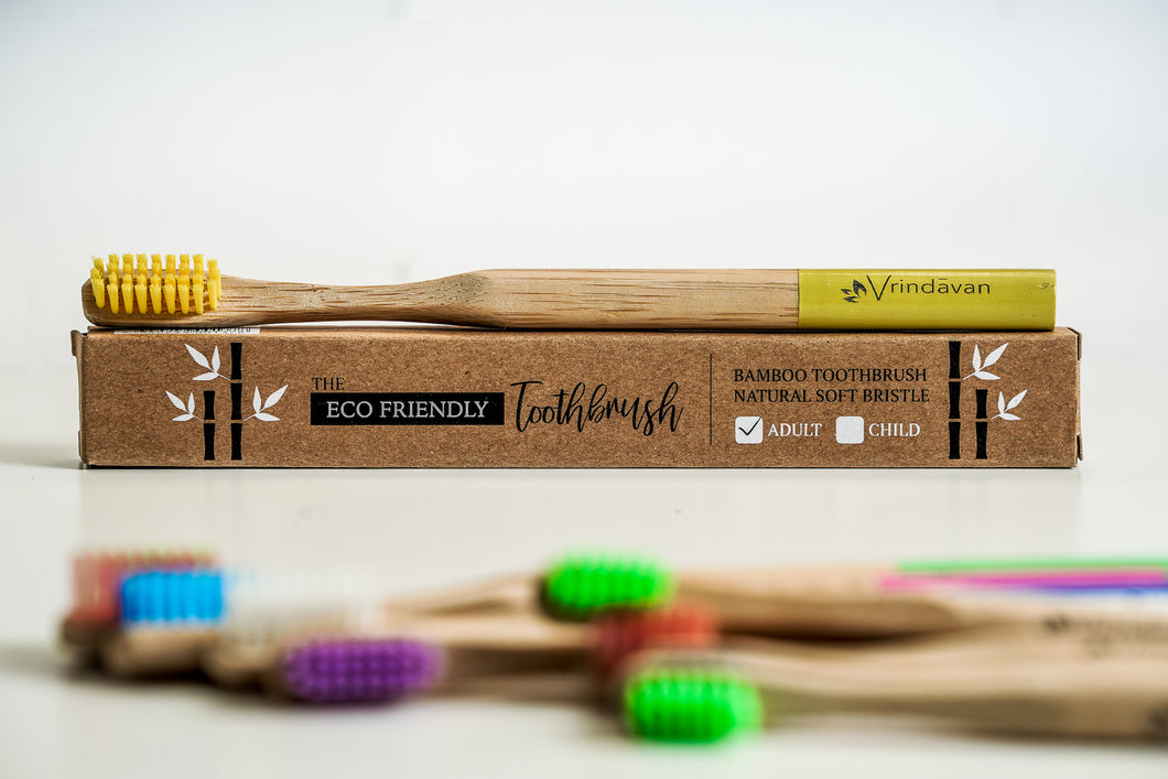 Bamboo Toothbrush - Adult