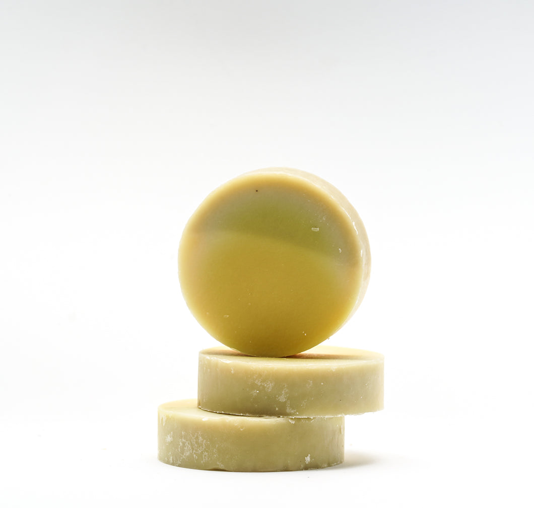 Lemon Myrtle Round Soap