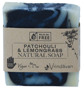 Patchouli & Lemongrass Square Soap