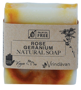 Rose Geranium Square Soap