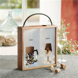 His / Hers Cork Box