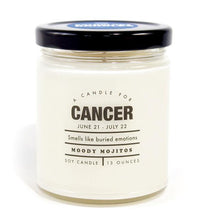 Load image into Gallery viewer, Cancer Astrology Candle