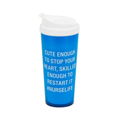 NurseLife Acrylic Travel Mug
