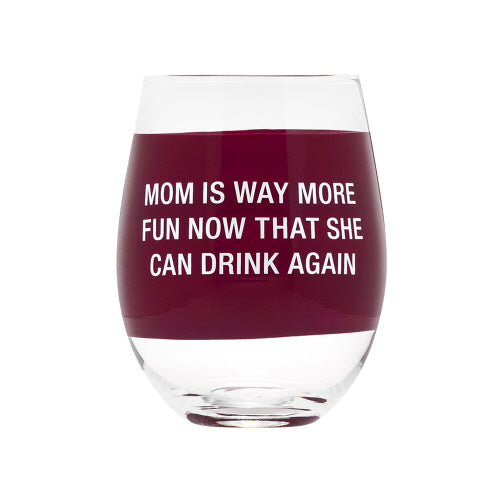 Mom Is Way More Fun...