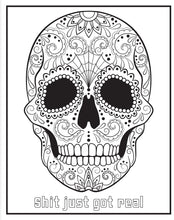 Load image into Gallery viewer, Chill the F*ck Out Coloring Book