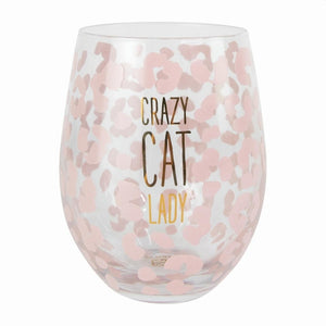 Animal Lovers Stemless Wine Glass
