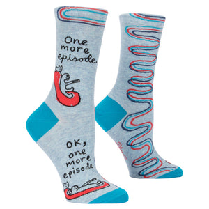 Just One More Episode Socks