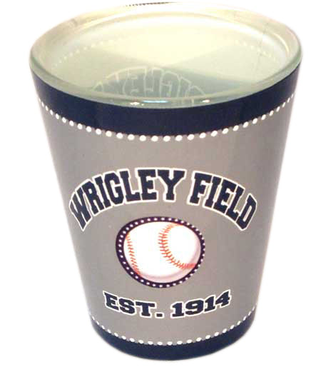 Wrigley Field Shot Glass