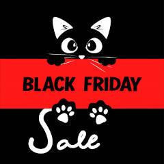 The Black Friday Sale your Cat will Love – Designer Cat Products | Luxury Cat Accessories