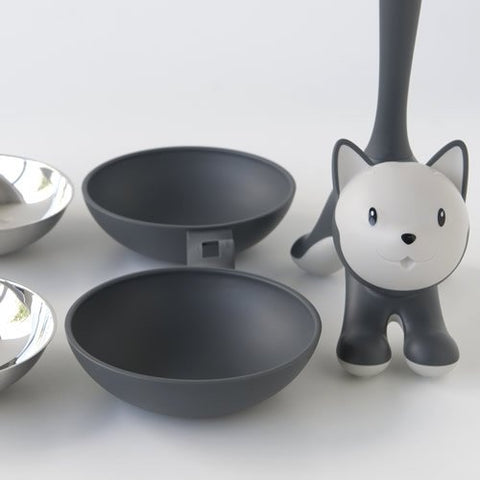 Land-of-Meow-Alessi-Tigrito-Double-Bowl-Black-Separated