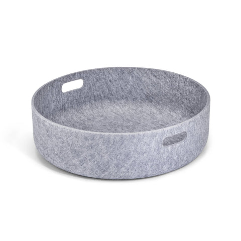Land of Meow Cesto Luxury Cat Basket Concrete
