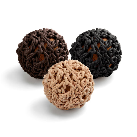 Land of Meow Filo Luxury Cat Toy Ball Set of 3