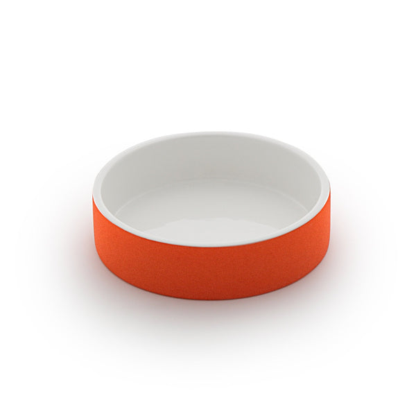 Land of Meow Magisso Tangerine Water Luxury Cat Bowl