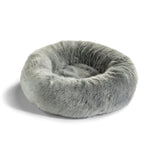 Land of Meow MiaCara Lana Luxury Cat Bed Heather Grey