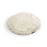Land of Meow MiaCara Lana Luxury Cat Cushion Ivory