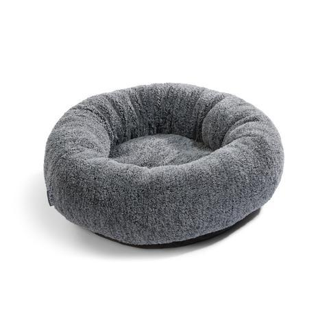 Land of Meow MiaCara Sherpa Luxury Cat Bed Grey