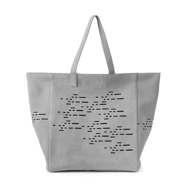 Land of Meow MiaCara Tosca Luxury Cat Travel Bag Cement Grey