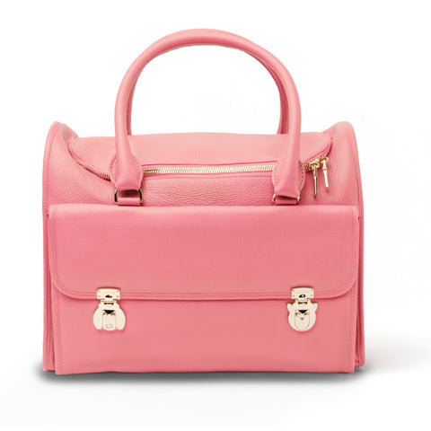Land of Meow Moshiqa Pink Luxury Cat Carrier