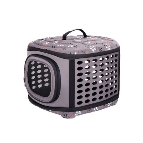 Land of Meow On The Go Luxury Cat Carrier Lavender Grey