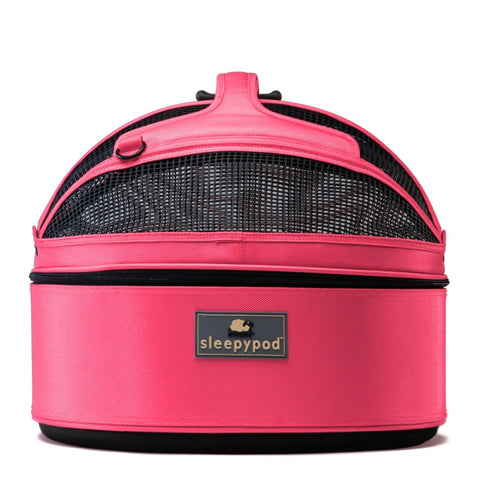 Land of Meow SleepyPod Cat Carrier Blossom Pink Front