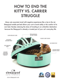 Land of Meow SleepyPod Cat Carrier Characteristics