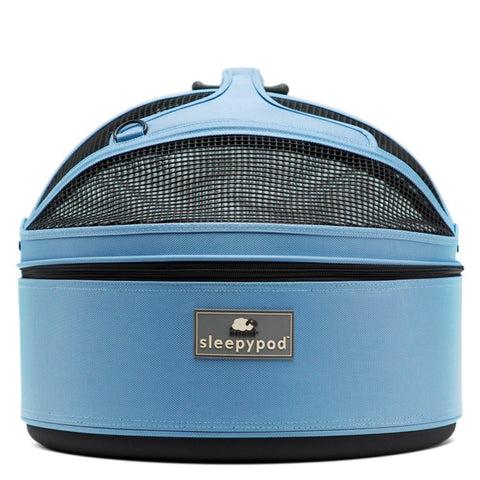 Land of Meow SleepyPod Cat Carrier Sky Blue Front