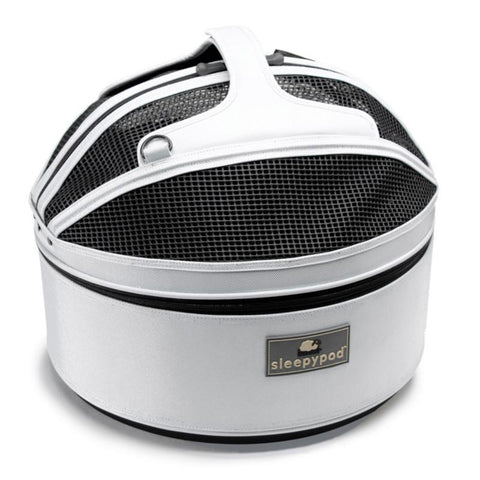 Land of Meow SleepyPod Luxury Cat Carrier Arctic White