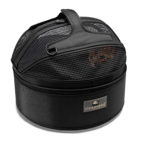 Land of Meow SleepyPod Luxury Cat Carrier Jet Black