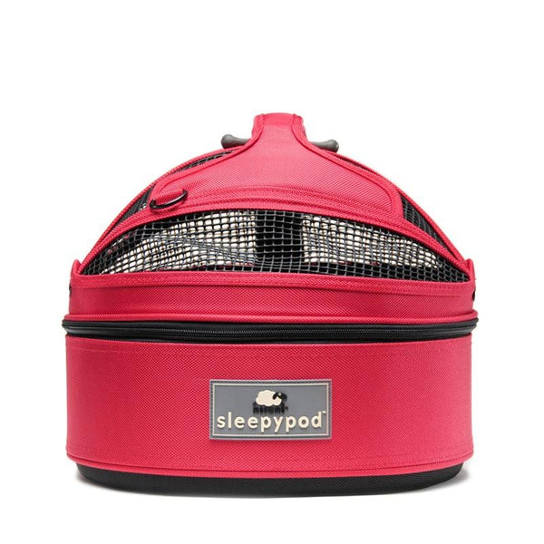 Land of Meow SleepyPod Mini Luxury Cat Carrier Blossom Pink