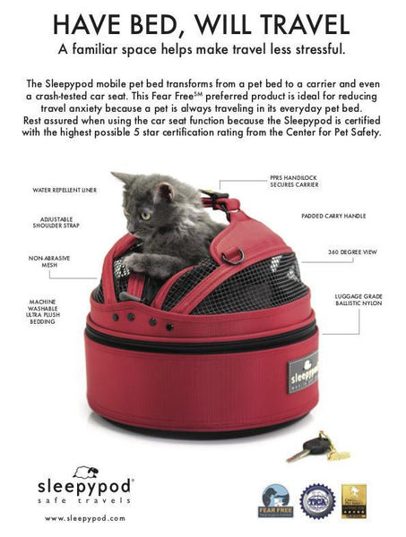 Land of Meow SleepyPod Mini Luxury Cat Carrier Characteristics