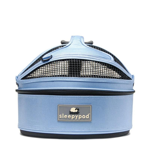 Land of Meow SleepyPod Mini Luxury Cat Carrier Sky Blue