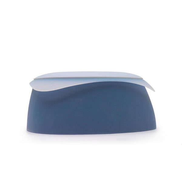 Land of Meow SleepyPod Yummy Luxury Cat Travel Bowl Small Blueberry
