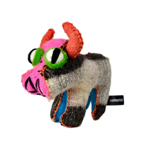 Land of Meow The Collarist Luxury Cat Toy Cow