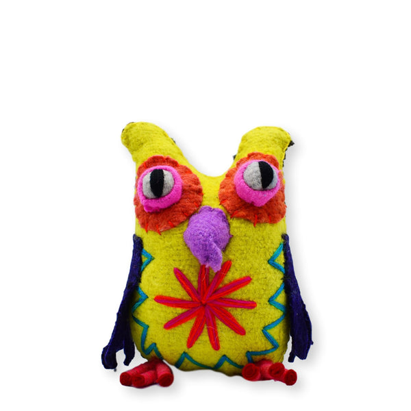 Land of Meow The Collarist Luxury Cat Toy Owl