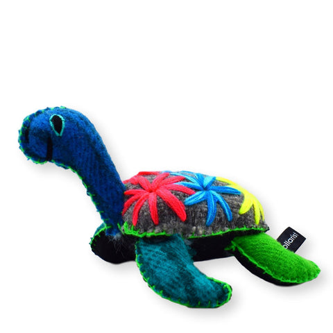 Land of Meow The Collarist Luxury Cat Toy Turtle