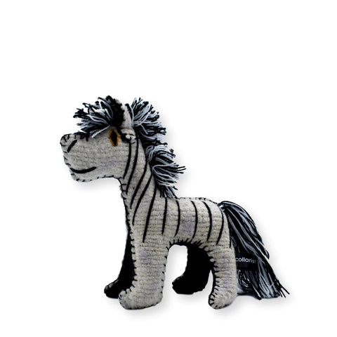 Land of Meow The Collarist Luxury Cat Toy Zebra