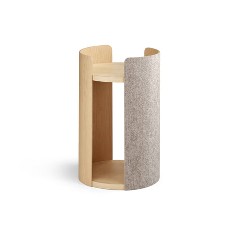 Land of Meow Torre Luxury Cat Tree Beige Small