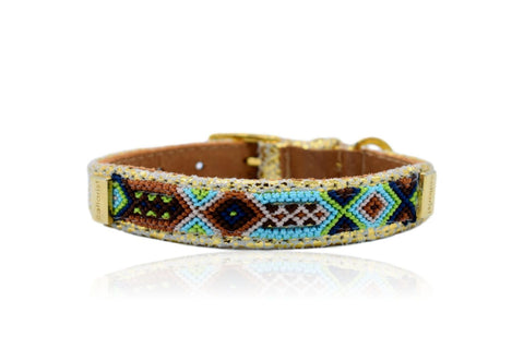Land of Meow the Collarist Friendly Vibes Luxury Cat Collar