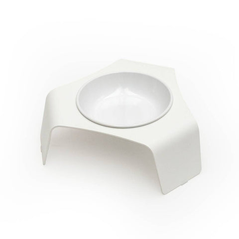 Deli Cat Bowl - White