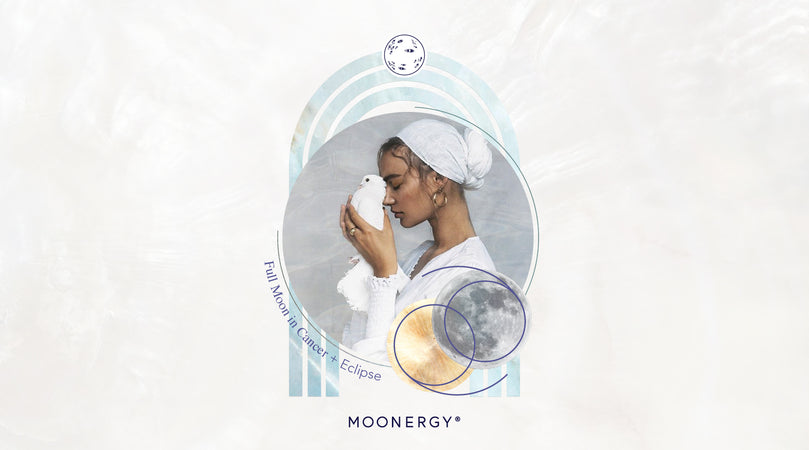 Full Moon Eclipse Moonergy Release Moon Bath