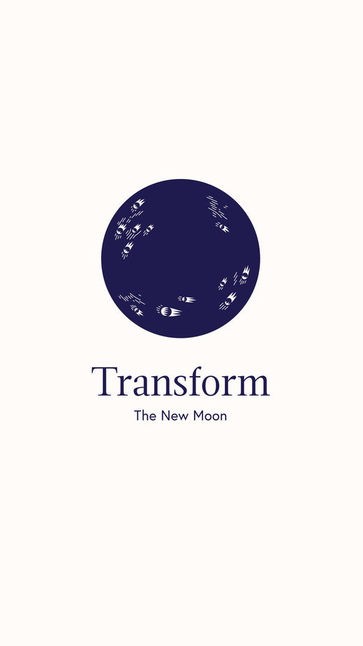 transform New Moon Bath Bomb and bath tea