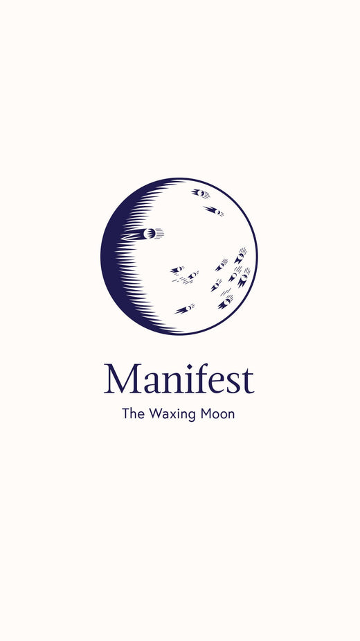 Manifest Waxing Moon Bath Bomb and Bath Kit