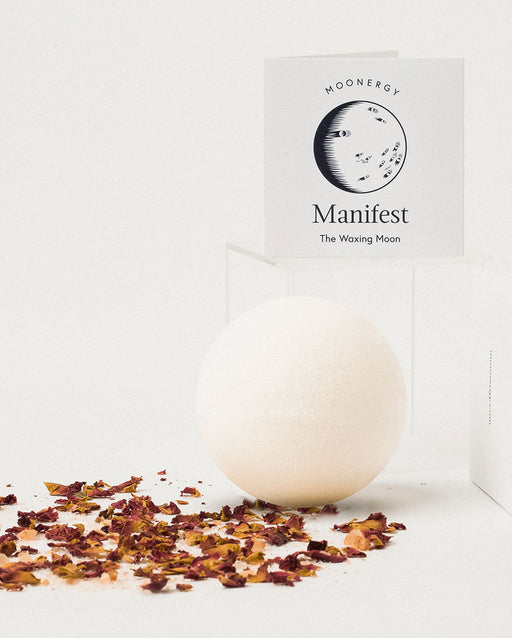 Manifest Bath Bomb: Waxing Moon Bath Ritual