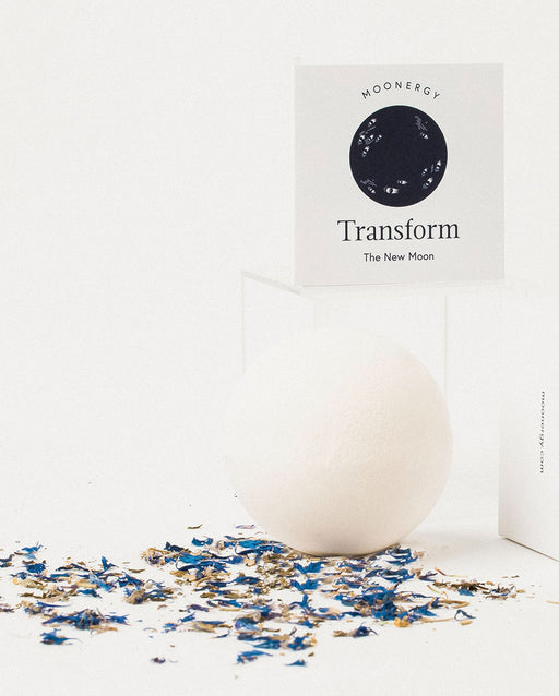 Transform Bath Bomb: New Moon Bath Ritual